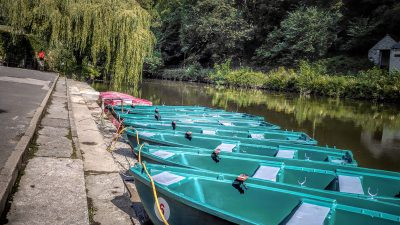 Rowing Boats on the River Derwent