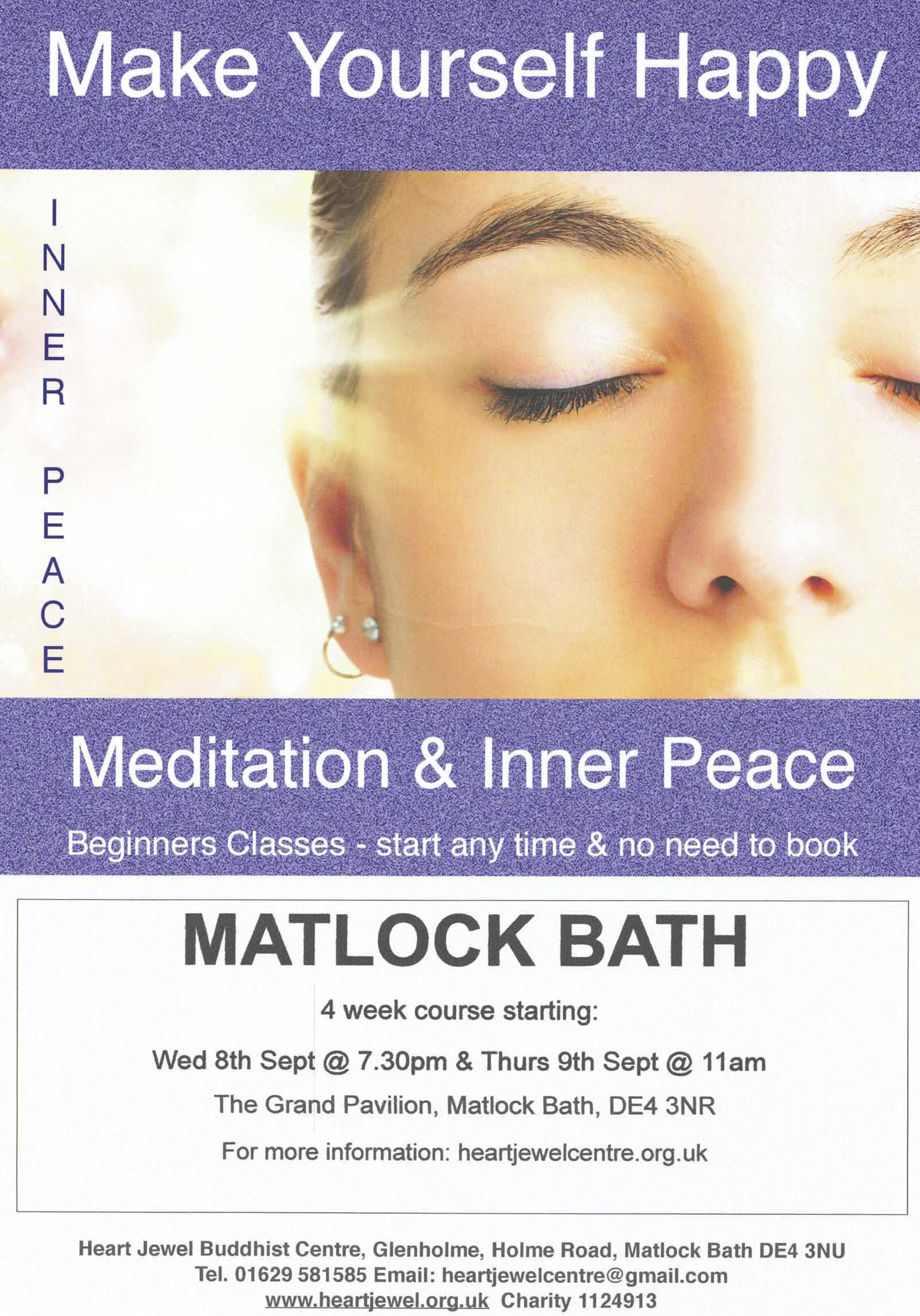 Meditation and Inner Peace Classes
