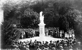 War Memorial Unveiling Matlock Bath