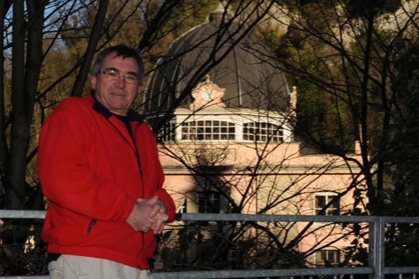 Matlock Bath Chairperson Peter Baranek