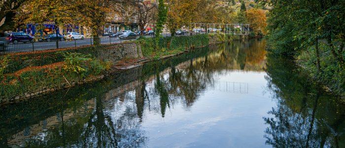 Matlock Bath and the River Derwent