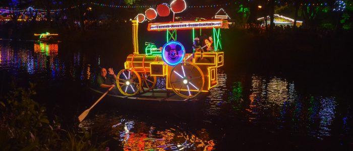 Matlock Bath Illuminations Boats